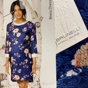 Pietro Brunelli Tapestry Floral Maternity Dress